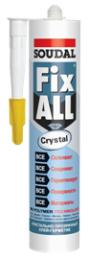 Прозрачный клей-герметик Soudal Fix All Crystal